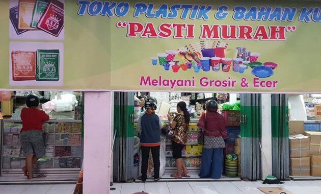 Usaha toko plastik modal kecil